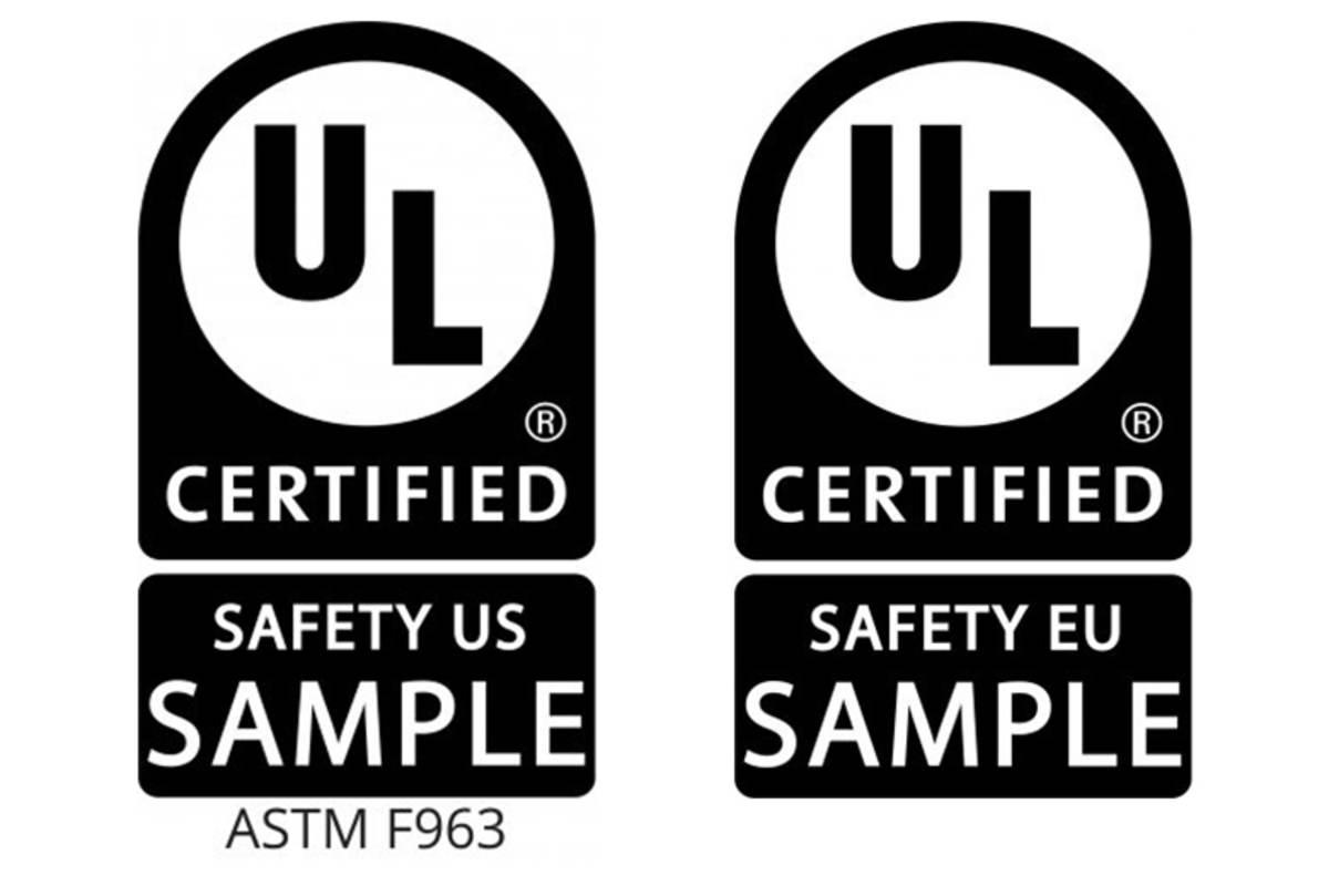UL Certification Mark Samples