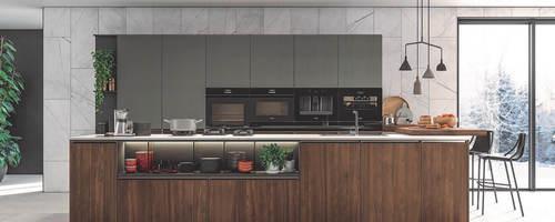 Photo of a modern kitchen